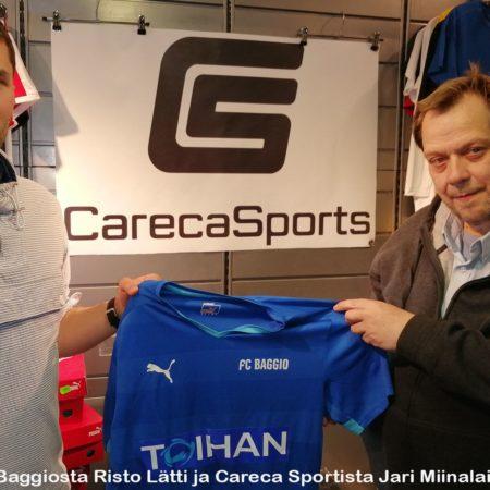 FC Baggio rantajalkapallon seurajoukkueiden EM-kisoihin
