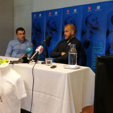 Careca Sports mukana Teemu Pukin lehdistötilaisuudessa